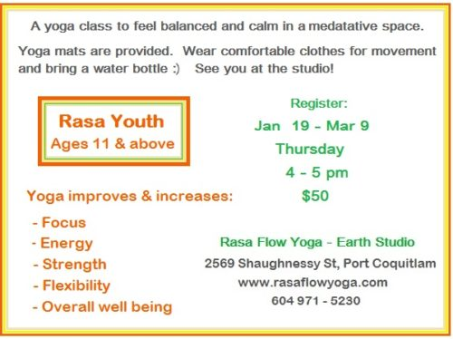 Earth Studio - Rasa Youth Ages 11 & Up