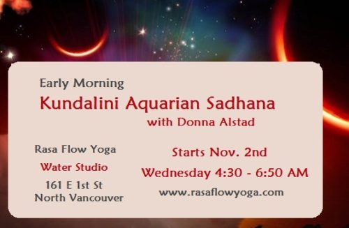 Water Studio - Kundalini Aquarian Sadhana