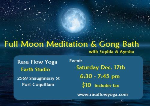 Earth Studio - Full Moon Meditation