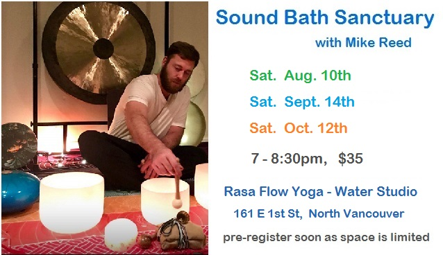 Sound Bath Dates